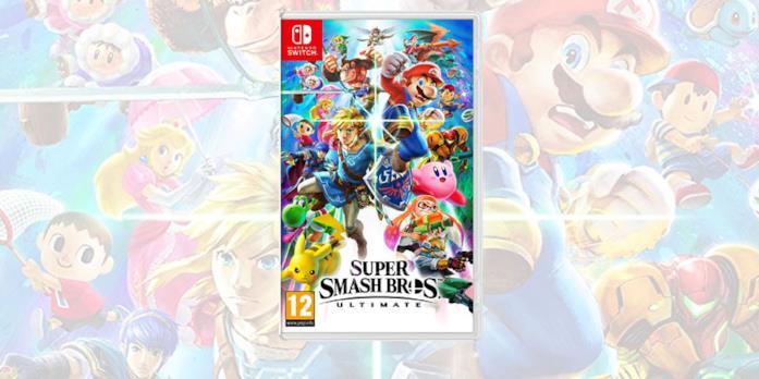 La boxart di Super Smash Bros. Ultimate