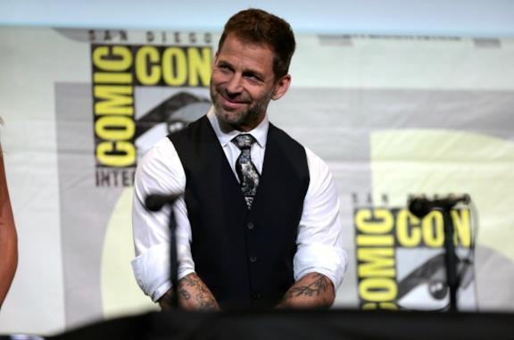 Un'immagine del regista Zack Snyder al San Diego Comic Con nel 2016
