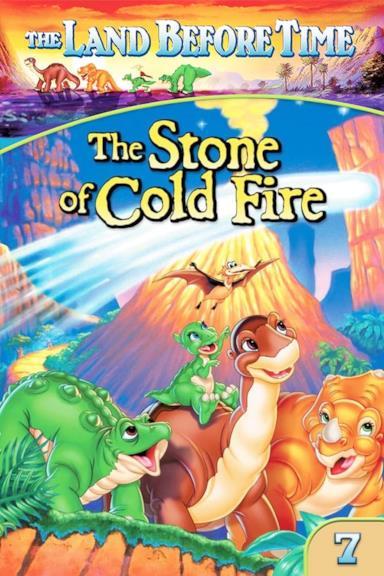 Poster Alla ricerca della valle incantata 7 - La pietra di fuoco freddo