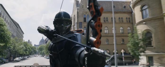 Taskmaster nel primo teaser trailer di Black Widow