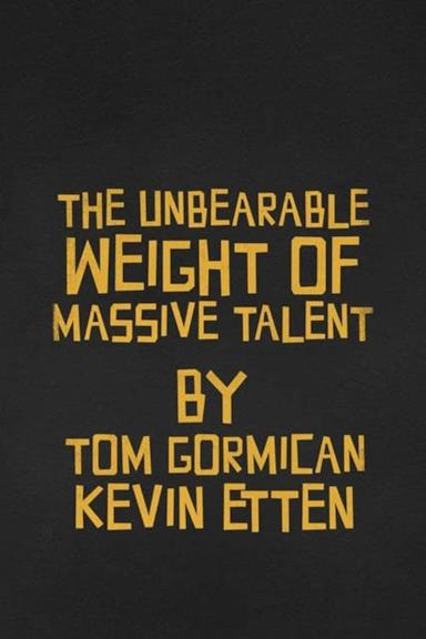 Poster The Unbearable Weight of Massive Talent