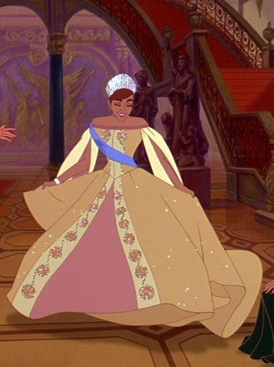 abito Anastasia film