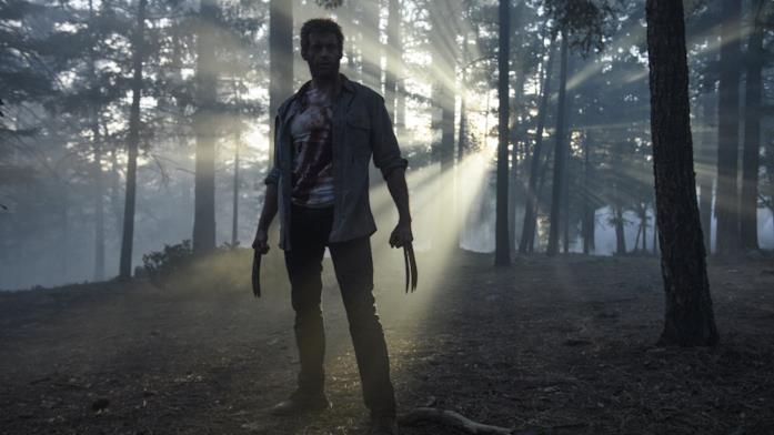 Hugh Jackman in Logan come Wolverine