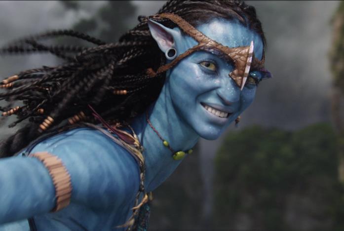 Un Na'vi nel film di Avatar