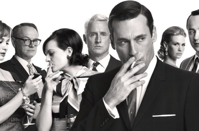 Il cast di Mad Men