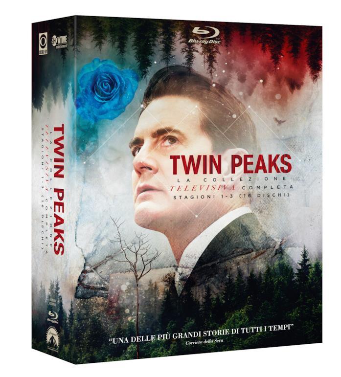 L'agente Dale Cooper sulla cover del cofanetto Blu-ray di Twin Peaks