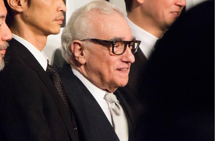 Un'immagine del regista Martin Scorsese