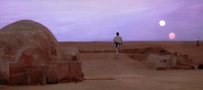 Luke Skywalker su Tatooine