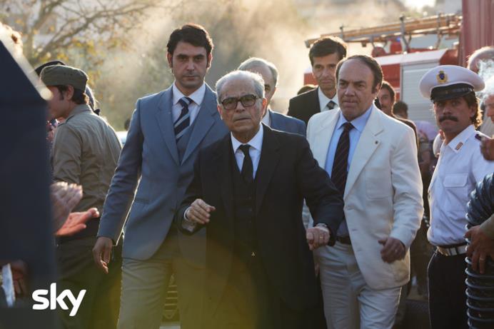 Una scena di Alfredino con Sandro Pertini
