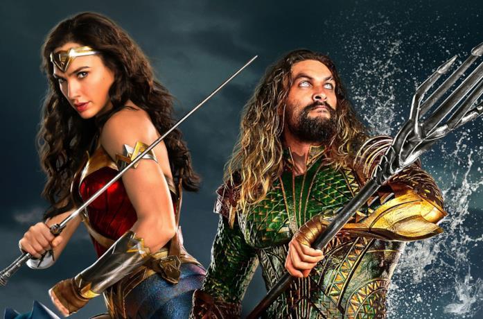 Wonder Woman e Aquaman