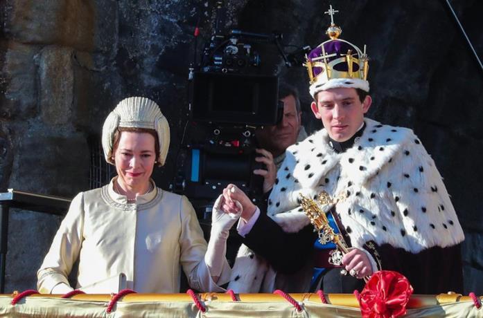 Elisabetta e Carlo nella terza stagione