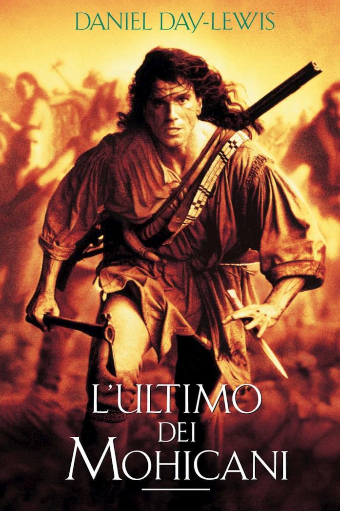 Il poster del film L'ultimo dei Mohicani