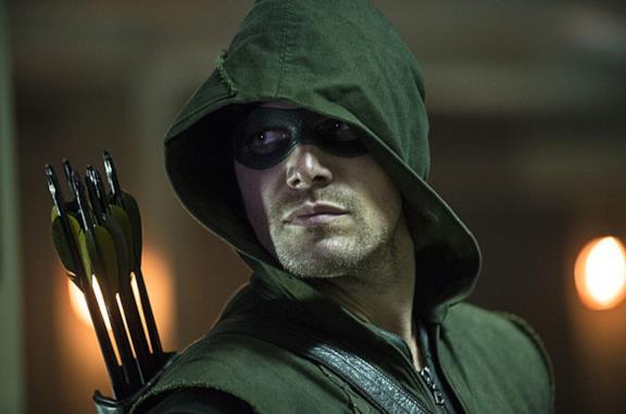 Stephen Amell in un'immagine tratta da Arrow