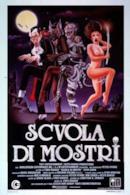 Poster Scuola di mostri