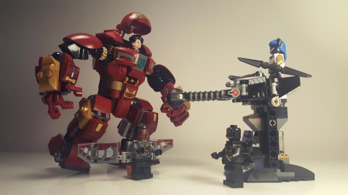"""Il set LEGO """"Duello con l'Hulkbuster"""" dedicato ad Avengers: Infinity War"""