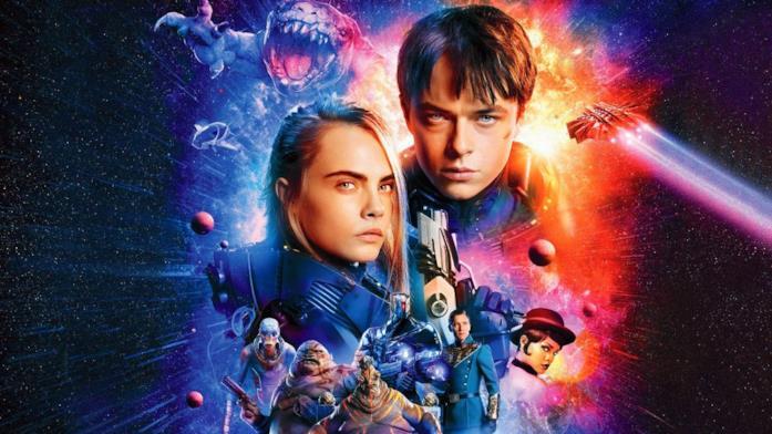 Un'immagine promozionale del film con i protagonisti e i comprimari