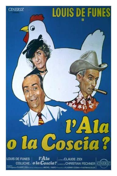 Poster L'ala o la coscia?