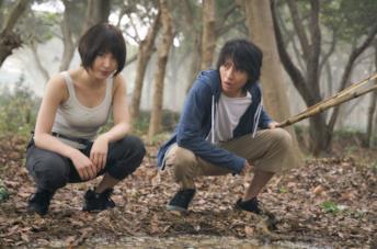 Usagi e Arisu nella prima stagione di Alice in Borderland