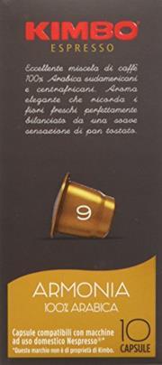 Kimbo Capsule Armonia Compatibili Nespresso