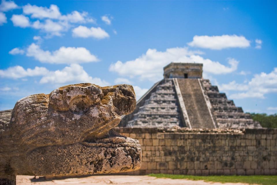 Le piramidi Maya in Messico