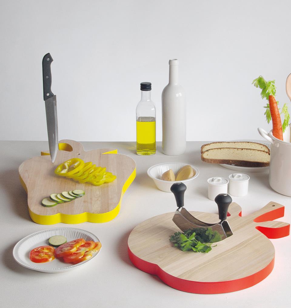 Regali per chi ama cucinare: tagliere Vege_Table di Seletti