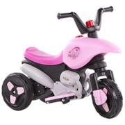 Moto elettrica rosa