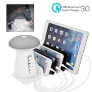 USB Charging Station, 5-Port USB Multi Device