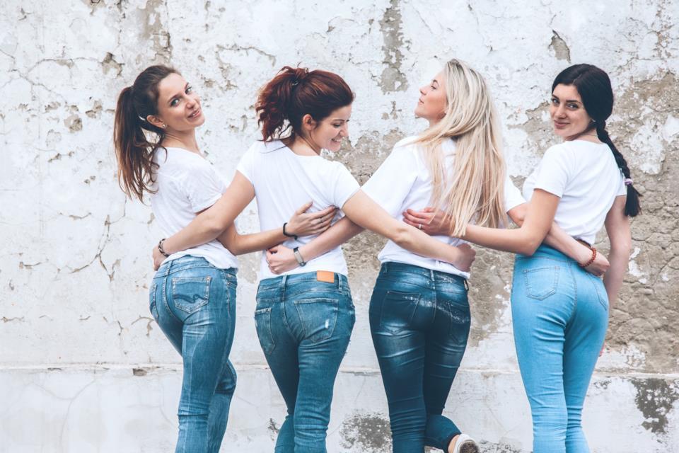 Magliette da donna senza stampe