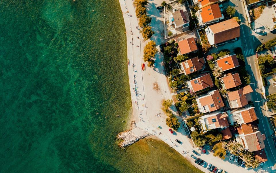 Veduta di Zadar in Croazia