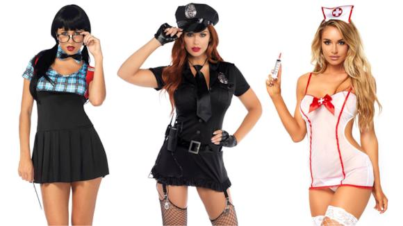 I migliori travestimenti hot studentessa, poliziotta e infermiera