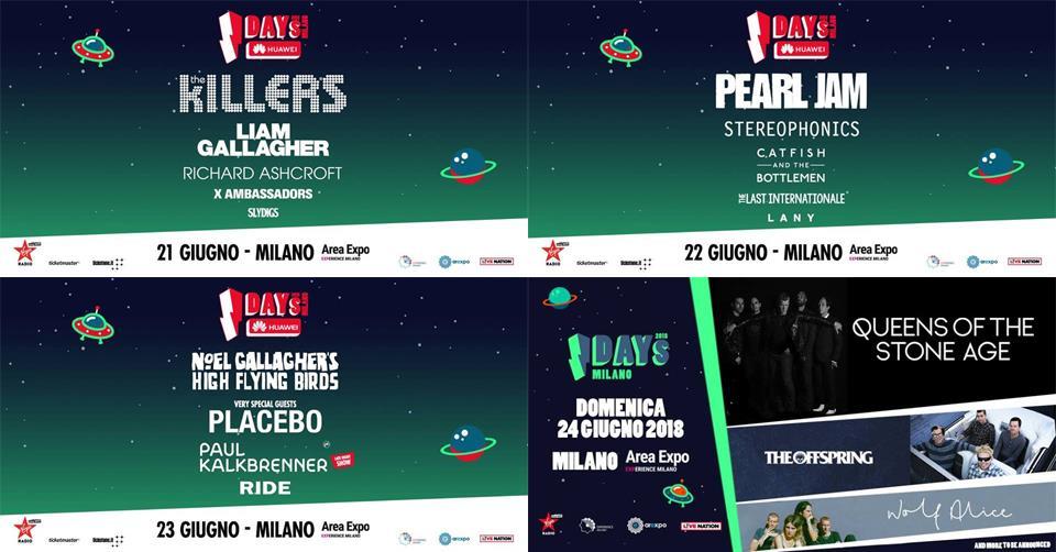 Lineup i-DAYS Festival 2018