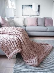 Coperta in lana merino
