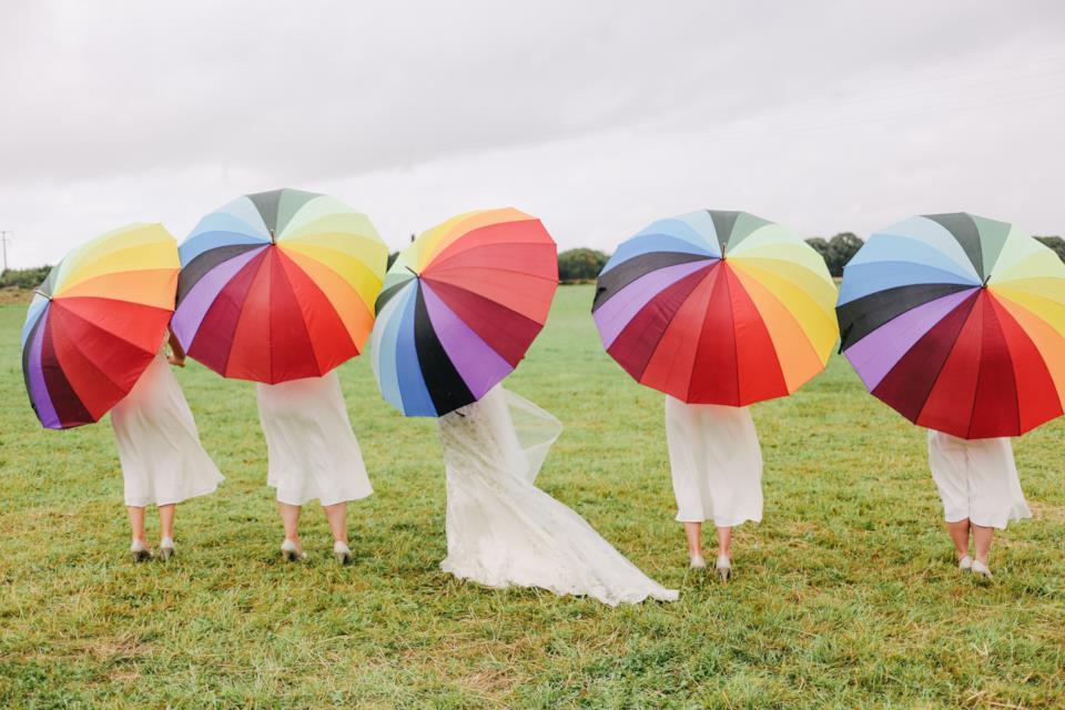 Come vestirsi se piove a un matrimonio