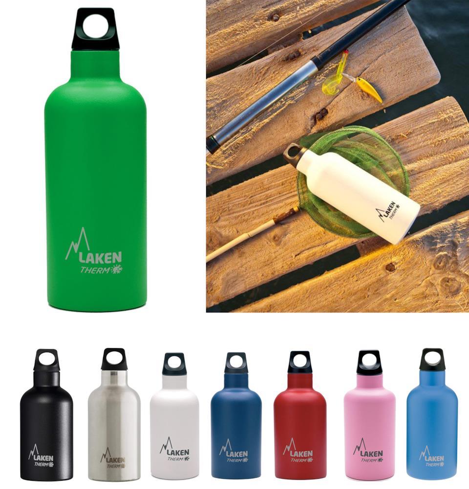 Laken Thermos Futura diversi colori Acciaio inossidabile per uso alimentare 18/8, senza BPA