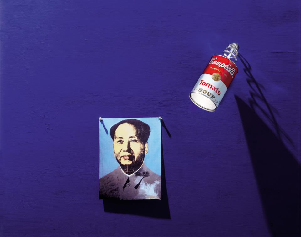 Regali per chi ama l'arte: lampada Canned Light