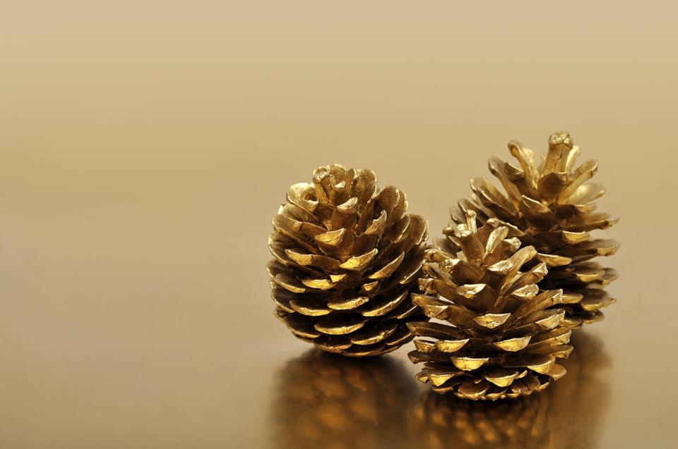 Pigne natalizie oro