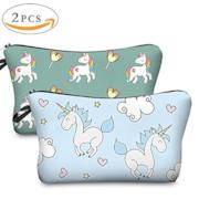 Beauty case con unicorni