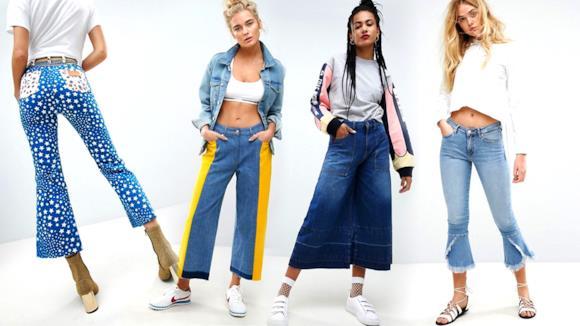 Pantaloni a zampa di elefante modelli 2018