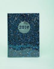 Agenda 2019 con glitter