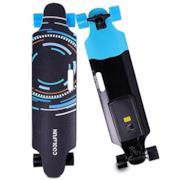 Skateboard Elettrico Longboard con Batteria LG e Telecomando Senza Fili