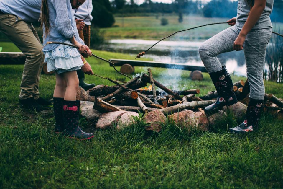 In campeggio con i bambini: cosa portare