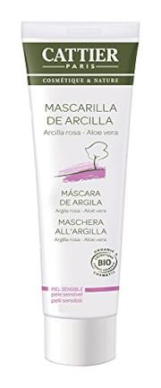 Maschera in Tubo all'Argilla Rosa e Aloe Vera - 100 ml