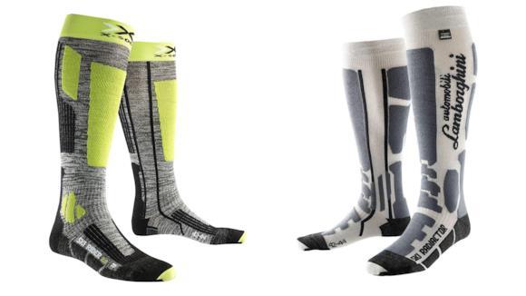 Una guida per scegliere le migliori calze da sci e per altri sport, utili per evitare i piedi freddi