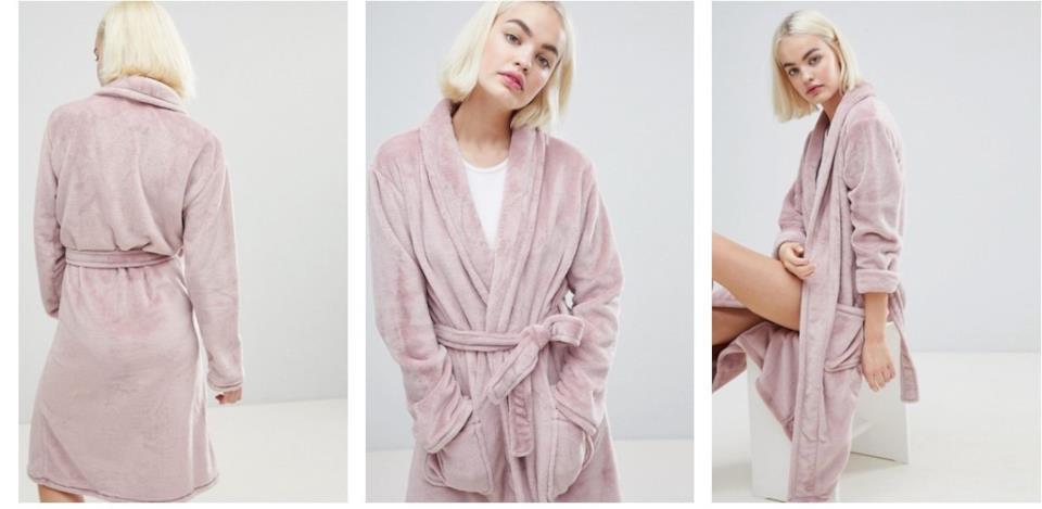 Idee regalo donna: vestaglia rosa da casa
