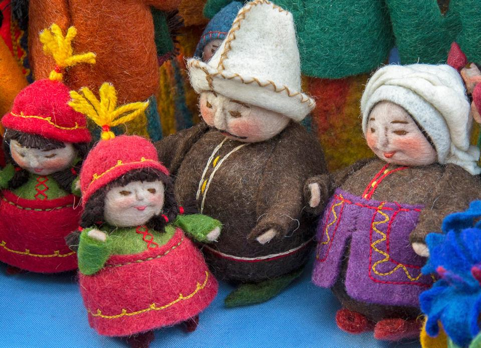 Bamboline folk feltro