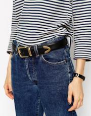 Cintura per jeans in pelle vegan