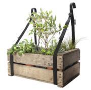 Supporto giardiniera - bretelle da balcone / Set da 2