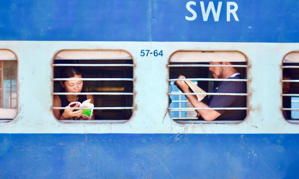 Treno tipico dell'India