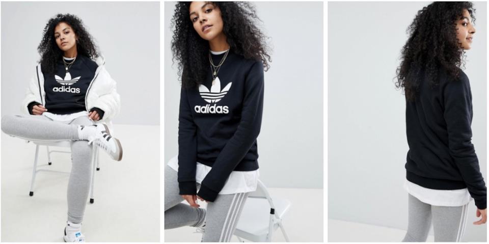 Cosa regalare a Natale a una donna sportiva: la felpa Adidas