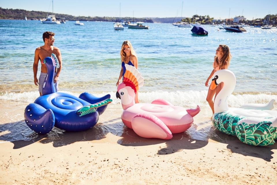 Materassini gonfiabili divertenti per mare e piscina